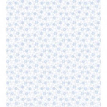 Papel de Parede Floral Azul...